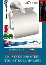GENUINE @HOME 304 STAINLESS STEEL TOILET ROLL HOLDER, PREMIUM QUALITY