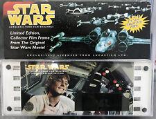 Star Wars Authentic 70mm Film Originals Luke Skywalker 1995 Limited Edition New
