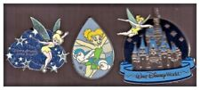 Tinker Bell pins: Where dreams come true; flying with birds; Walt Disney World