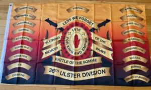 *NEW 36TH ULSTER DIVISION FLAG BRITISH ARMY NORTHERN IRELAND