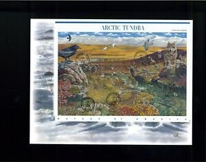 2003 Fairbanks Alaska Nature of America Arctic Tundra First Day Cover