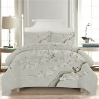 Scent Of Blossom 3D Quilt Duvet Doona Cover Set Single Double Queen King Print