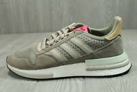 52 Adidas ZX 500 RM Boost Simple Brown BD7859 Athletic Sneaker Shoes Mens SZ 10