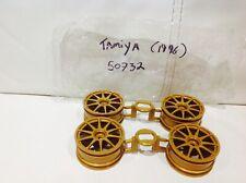 Tamiya 50732 Original Gold Wheel  Set