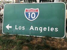 10 Freeway Los Angeles Large sign Vintage 89� Urban art Authentic