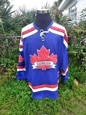 Team Canadian Molson Hockey Jersey Maple leaf  adult large Canadian  Athletics