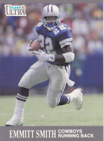 1991 FLEER FOOTBALL CARD # 165 - HOF EMMITT SMITH - DALLAS COWBOYS