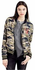 True Religion Women's Camo Bomber Jacket in Camo