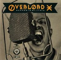 OVERLOAD X weapon is my lyric (CD, album, 1989) hip-hop, britcore, very good,