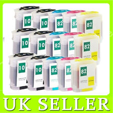 15 INK CARTRIDGE For HP 10& 82 Designjet 500 Plus 500ps Plus 800ps 815mfp 820mfp