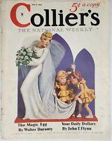 Vintage Colliers Magazine June 8, 1935  Rosalie Rush cover