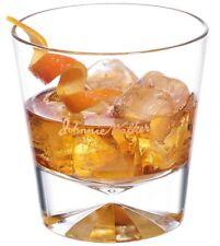 Johnnie Walker Black - Striding Man 10 oz. Faceted Glass Set Genuine & Authentic