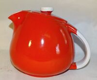 Hall USA Sani-Grid Teapot 4 cup - Chinese Red