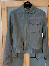 Timberland Denim Jacket - Modern Style - Men's Medium / Large - Grey'ish Blue