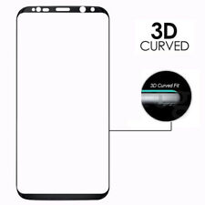 Case Tempered Glass Screen Protector Full Cover For Samsung Galaxy S6 S7 S8 S9