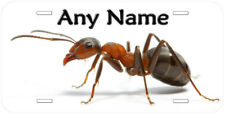 Formica Ant Any Name Personalized Aluminum Car License Plate
