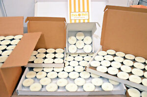 Soy Wax tealights. 100% pure natural soy wax. Hand poured in Hampshire, UK