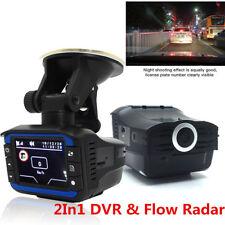 "2in1 Car HD Dash Cam Camera Recorder Video Radar Speed Detector G-sensor 2"" LCD"