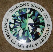 DIAMOND SUPPLY CO Logo Skate Sticker Simplicity skateboards helmets decal