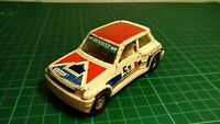 Vintage Corgi 381 Renault 5 Turbo Racing FACOM Car White Dunlop Diecast  Toy
