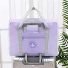 Nylon Foldable Travel Duffel Bag Luggage Sports Gym Water Resistant Carry-on