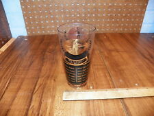 Vintage 1959 PRO FOOTBALL CHAMPIONS & JIM THORPE TROPHY WINERS Drinking Glass
