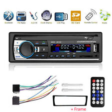 Autoradio radio de coche MP3 bluetooth manos libres car USB SD AUX 1DIN + cuadro