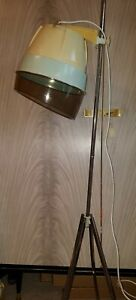 Vintage Calor Free Standing Hair Dryer Adjustable Height Tripod Boxed
