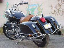 RAIL GUARD SADDLEBAGS SADDLE BAG 4 HONDA VALKYRIE CHROME