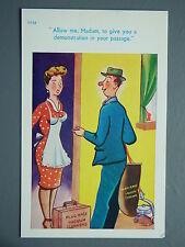 R&L Postcard: Brook Publishing  Trow 11938 Vacuum Cleaner Salesman