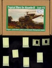 Croco Models 1/72 Tropical Filters for the Alouette Iii Helicopter Resin Set