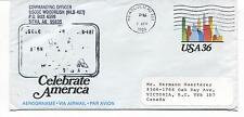 USCGC Woodrush WLB-407 Sitka Alaska Celebrate America Honolulu Polar Cover