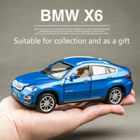 4 Styles BMW X6 Alloy Model 1:32 Open Four Doors Sound and Light Collectible Toy