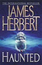 JAMES HERBERT ____ HAUNTED ___ SHELF WEAR ___ 'B' FORMAT ___ FREEPOST UK