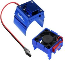 Powerhobby Traxxas Velineon VXL-3 ESC + Motor Cooling Fan Blue : Rustler VXL