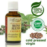 Pharm Grade Virgin Castor Oil 30 ml / 1.1 oz | 100% Pure Organic