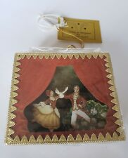 Vintage Christmas ornament mint Midwest of Cannon Falls dancers in original box
