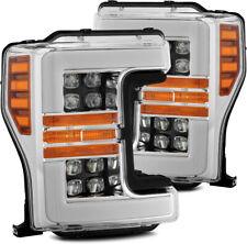 For 17-19 Ford F250 F350 F450 F550 Super Duty Chrome Nova Projector Headlights