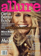 Allure 5/12,Heidi Klum,May 2012,NEW