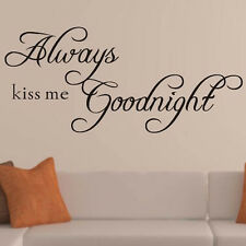 Bedroom  Englash Words Good Night  Removable Vinyl Wall Sticker Decal Decor 1PC