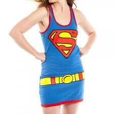 *NEW* DC Comics Batman Super Girl Character Juniors Medium (M) Tank Dress
