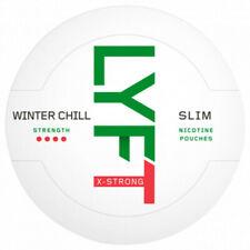 snus lyft Winter Chill X-Strong Slim