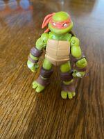 """🐢2012 Viacom Teenage Mutant Ninja Turtles TMNT Michelangelo Action Figure 4.5"""""""