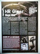 COUPURE DE PRESSE-CLIPPING :  H.R.GIGER  02/2005 Illegal Alien