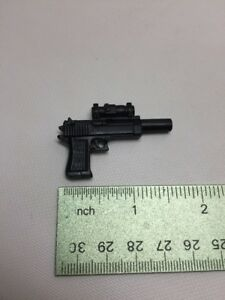 """1/6 Scale Parts for 12"""" Figure Military Weapons Spy Concealed Hand Gun"""