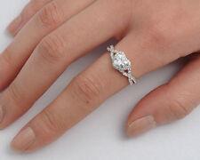USA Seller Infinity Heart Ring Sterling Silver 925 Jewelry Garnet CZ Size 4
