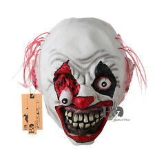 Burst Eyes Halloween Scary Mask Circus Clown Head Adult Costume Accessory Prop