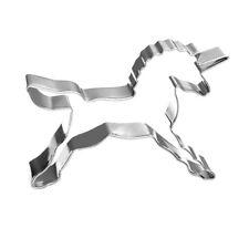 Ausstechform Ausstecher Einhorn 8cm x 5cm Metall Unicorn Backen Kekse Zauber