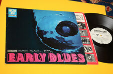 E. CLAPTON J. MAYALL J PAGE LP EARLY BLUES 1°ST OPRIG GERMANY 1966 EX LAMIANTED