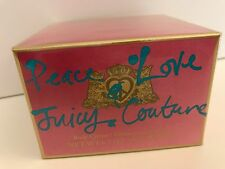 ~JUICY COUTURE Peace & Love BODY CREAM~New SEALED in Box~6.7oz/200ml~Rich Lotion